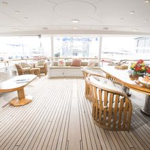 Constance Yacht Aft Deck Seating