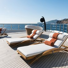 Here Comes The Sun Yacht Sundeck Loungers