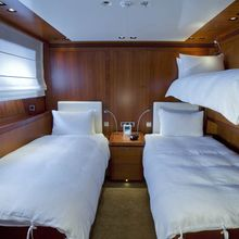 Ethereal Yacht Twin Stateroom