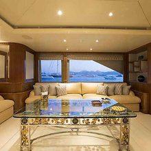 Blue Night Yacht
