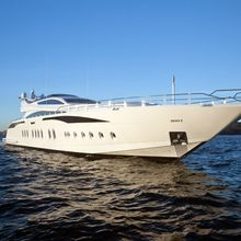 Be On It Yacht Front View