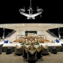 Ice Angel Yacht Deck - Night