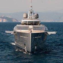 Exuma Yacht Head On