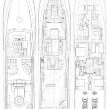 Dream Yacht Deck Plans