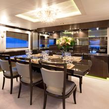 Strega Yacht Dining Salon