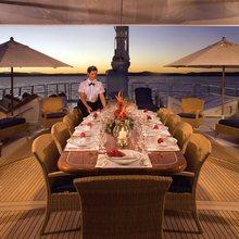 FAM Yacht Exterior Dining