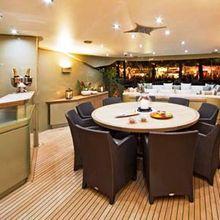 Hokulani Yacht Circular Dining Table & Bar