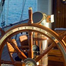 Fleurtje Yacht Ship's Wheel