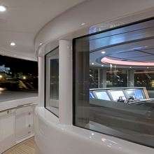 Bella Vita Yacht Bridge Deck