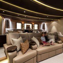 Here Comes The Sun Yacht Cinema Room