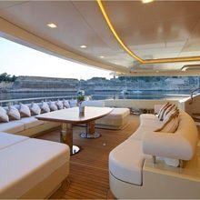 Natalina A Yacht Main Deck Seating