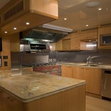 Reef Chief Yacht Galley