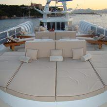 Lady A Yacht Sun Pads