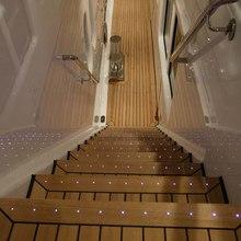 Bella Vita Yacht Deck Staircase