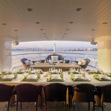 Voyager Yacht Alfresco Dining