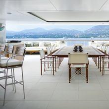Kogo Yacht Exterior Dining