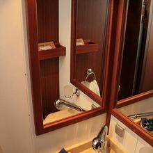 Kairos II Yacht Bathroom Detail