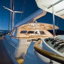 Ethereal Yacht Pilothouse - Night