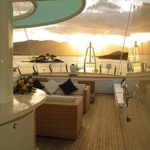 Achilles Yacht Sundeck - Sunset