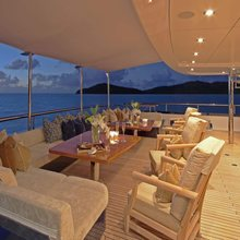 Ice Angel Yacht Aft Deck