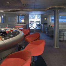 FAM Yacht Interior Bar