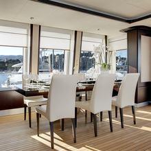 Megan Yacht Dining Salon