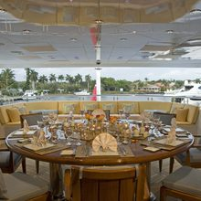 Reef Chief Yacht Exterior Dining