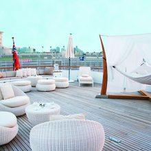 Constance Yacht Aft Deck