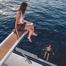 Apricity Yacht charter guests