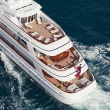Majestic Yacht Rear View