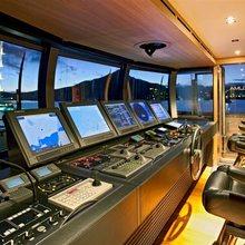 Exuma Yacht Wheelhouse - Night