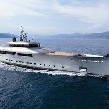 Exuma Yacht Underway