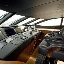 Regulus Yacht Pilothouse