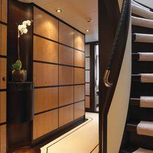 Harle Yacht Stairs & Hallway