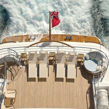 Bella Vita Yacht Sundeck - Overhead