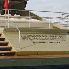 Hokulani Yacht Stern
