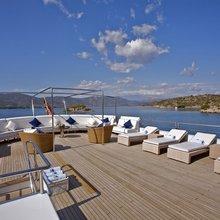 Achilles Yacht Bridge Deck