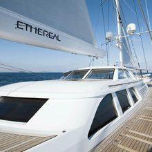 Ethereal Yacht Pilothouse