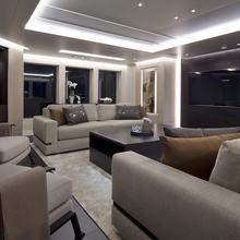 Mogambo Yacht Bridge Deck Lounge