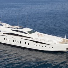 Be On It Yacht Aerial View