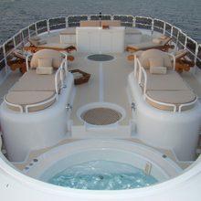 Lady A Yacht Jacuzzi