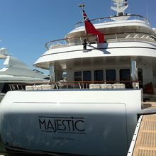 Majestic Yacht Moored