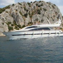 Elegance 76 New Line Yacht