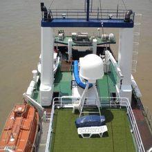 Sarsen Yacht Overview of Deck