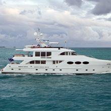 Chosen One Yacht Running Shot  - Side View