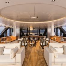Suerte Yacht Upper Deck Seating
