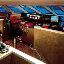 Caprice Yacht Pilothouse