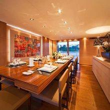 Fan Too Yacht Formal Dining