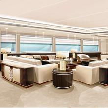 Natalina A Yacht Main Salon Rendering