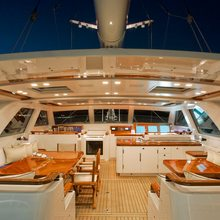 Ethereal Yacht Pilothouse Seating - Night